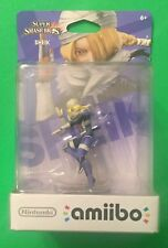 Sheik Super Smash Bros amiibo Nintendo 3DS Wii U Switch New Sealed Hot Toy VHTF