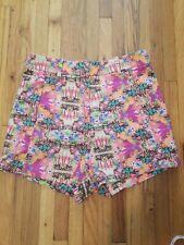 Victoria's Secret Tropical High Waist Shorts Size 6