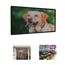 Led Scrolling Sign 27x 14 inch Full Color Open Signs For Advertising P5