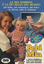 X4064 Babi Mia un mondo di accessori - GIG - Pubblicità 1996 - Advertising