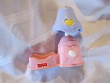 Vintage Fisher Price Caring Touch MAGIC MONITOR LAMP For Baby Doll Pretend Play