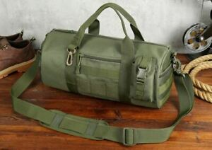 Men Military Tactical Outdoor Shoulder Bag Molle Camping Hiking Pouch Bag Travel