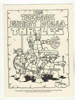 Teenage Mutant Ninja Turtles Group Shot 1983 Jetpack FCBD 2014 Exclusive RARE!