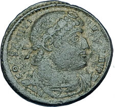 CONSTANTINE I the GREAT 330AD Authentic Ancient Roman Coin w SOLDIERS i65968