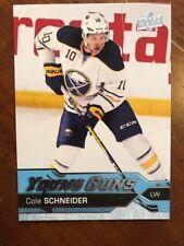 2016-17 UD Hockey Series 1 Young Guns #517 Cole Schneider