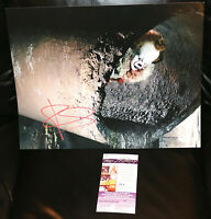BILL SKARSGARD SIGNED 11X14 PHOTO POSTER AUTOGRAPH JSA PSA COA IT PENNYWISE
