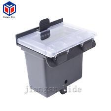 Black Dash Box for Polaris RZR 900&S 15-18 (Double Den to Door 1000 Storage)