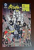 DC Batman 66' Meets Steed & Mrs. Peel Hardcover Graphic Novel, Brand New Sealed