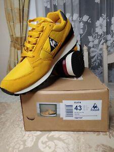 Le Coq Sportif Eclat 89 Golden Yellow UK9 EU43