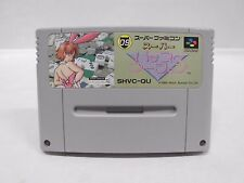SNES -- SUPER PACHI SLOT MAHJONG -- Can save. Super famicom. Japan game 14096