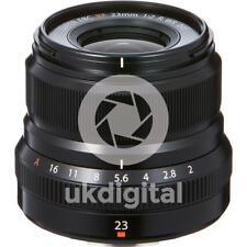 Fujifilm Fujinon XF 23 mm f/2 R WR Lentille-Noir