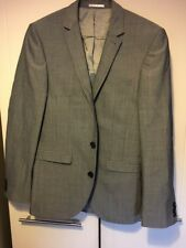 Next Grey Wool Blend Jacket Blazer Preowned Good Condition 36 S