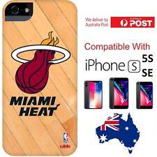 NBA x HOOT Miami Heat Hard Court Cover Case basketball iPhone 5 / 5s / SE