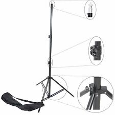 Trépied Pied pour Studio Photo Video Flash 250cm Support Aluminium avec Sac
