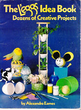 The L'eggs Idea Book How to Craft w Egg Shaped L'eggs Pantyhose Containers Vtg