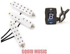Seymour Duncan Everything Axe JB Jr Duckbucker Little 59 White Set ( FREE TUNER)