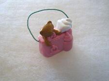 FISHER PRICE Loving Family Dollhouse BABY PINK DIAPER BAG for INFANT NURSERY