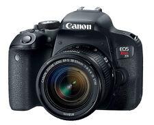 Canon EOS Rebel T7i(= EOS 800D) EF-S 18-55mm IS STM Lens Kit -Black