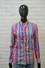 Camicia TOMMY HILFIGER Donna Taglia S Maglia Chemise Blusa Shirt Woman Cotone