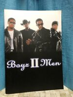 BOYZ II MEN 2001 Japan Tour Concert Program Book Rare
