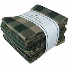 Dunroven House Homespun 12-Piece Fat Quarters 18 by 21-Inch Green