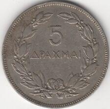 1930 Grèce 5 drachmai *** collector ***