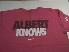 Albert Knows #5 Nike Brand T-Shirt-Large St. Louis Cardinals Pujols Baseball