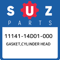 11141-14D01-000 Suzuki Gasket,cylinder head 1114114D01000, New Genuine OEM Part
