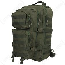 Una grande Cinturino Molle Pack Assalto BAG 22L Zaino Tattico Militare Verde Oliva