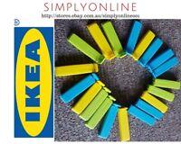 20 x IKEA Bevara Plastic Food Storage Bag Sealing Clips Lock 6cm