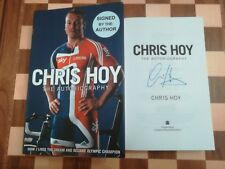 Chris Hoy SIGNED The Autobiography Hardback Book 2009 1st edition 1st impression