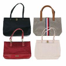 Tommy Hilfiger Womens Purse Tote Shoulder Bag Logo Pocketbook Shopper New Nwt Th