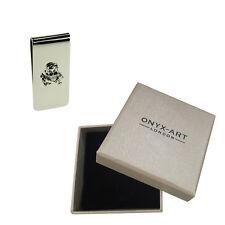 Skull And Cross Bones Money Clip In Deluxe Gift Box