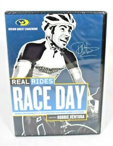 Vision Quest Coaching - Real Rides Race Day w/ Robbie Ventura (DVD, 2006) New
