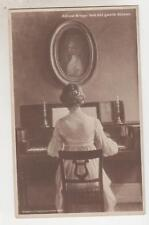 NETHERLANDS, 1913 ppc. Alfred Broge, Lady Playing Piano, 5c. Dinteloord