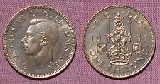 1951 KING GEORGE VI PROOF SCOTTISH SHILLING