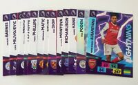 2020/21 PANINI Adrenalyn EPL Soccer Cards - Random lot of 20 cards incl 2 shiny