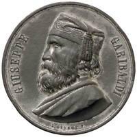 s1529) Giuseppe Garibaldi (1807-1882) Medaglia 1882 Per la morte MB Ø 51