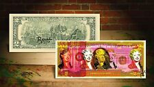 MARILYN MONROE YELLOW by RENCY Pop Art Giclee on Real $2 Bill Signed #/70 Banksy