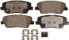 Disc Brake Pad Set-Total Solution Ceramic Brake Pads Rear Monroe CX1284
