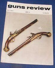 GUNS REVIEW MAGAZINE  JANUARY 1971 - THE CZECH VZ 52 SELF LOADING RIFLE