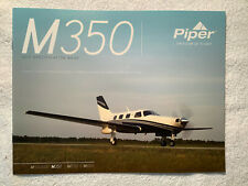 PIPER M350 AIRCRAFT BROCHURE