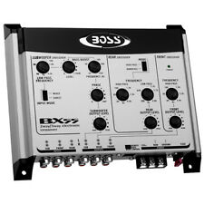Boss Audio BX55 2 / 3 Way Electronic Crossover with Remote Bass Control