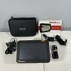 GOOD SAM RVND-7725 LM - GPS for RV - With Charger, Mount, Case, USB, *BUNDLE*