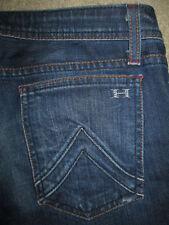 HABITUAL Half Baked Boot Cut Stretch Dark Blue Denim Jeans Womens Size 28 x 34