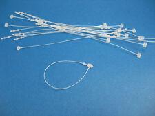 """110 Boxes of 5000 Pcs 3"""" Snap Lock Pin Security Loop Tag Fastener Hook Ties"""