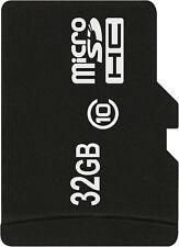 MicroSD Scheda di memoria microSDHC 32 GB per Samsung Galaxy s5, Galaxy j5,