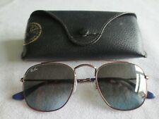 Ray Ban bronze frame sunglasses. RB 3557 9003/96. With case.