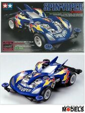 Mini 4wd Fully Cowled SPIN VIPER (VS Chassis) Tamiya 19429 1/32 New Nuovo