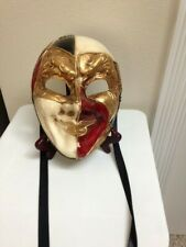 PAPER MACHE COSTUME / MARDI GRAS/ THEATRICAL MASK FROM ITALY